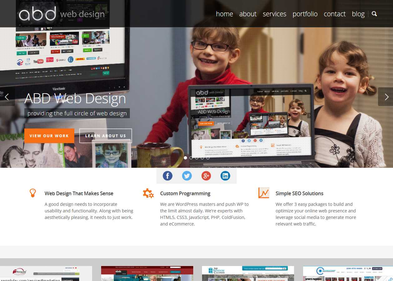 2015 ABD Web Design Website